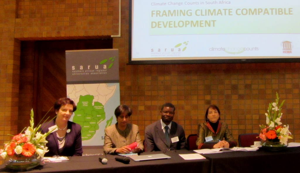 SARUA Climate Change Counts in South Africa speakers