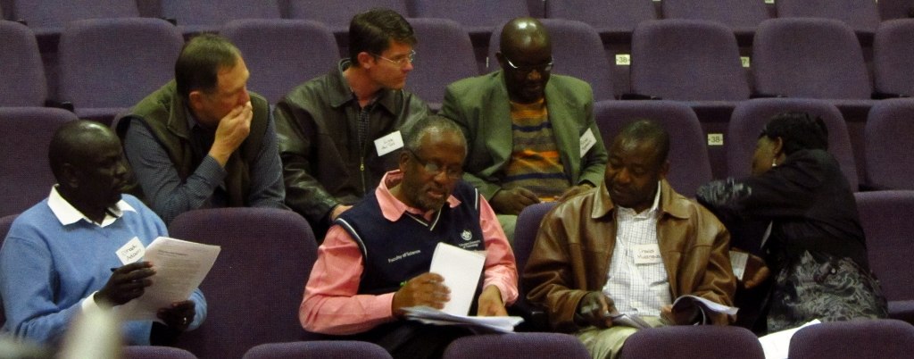 SARUA Climate Change Counts in South Africa work groups in action